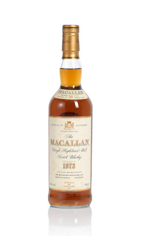 The Macallan- 1973- 18 year old