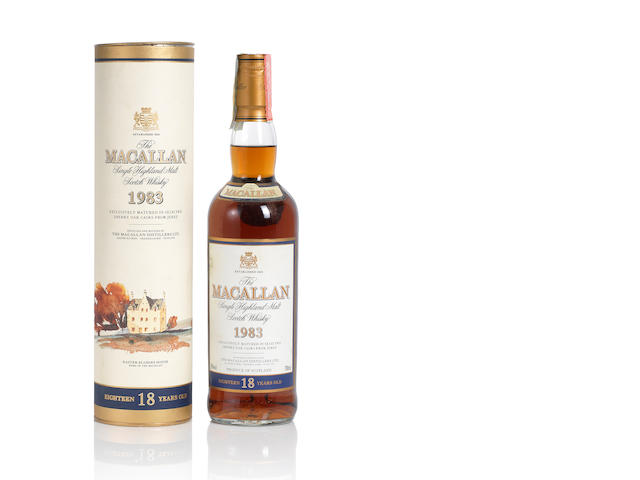 The Macallan- 1983- 18 year old