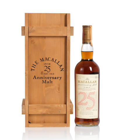 The Macallan- 1962- 25 year old