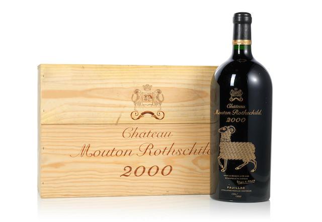 Château Mouton Rothschild 2000 (12)