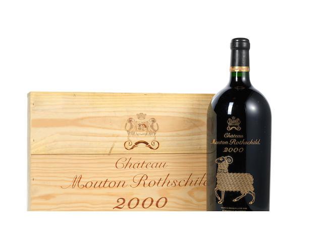 Château Mouton Rothschild 2000 (1 Jeroboam)
