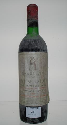 Chateau Latour 1961 (1)