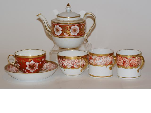 A collection of 18th century English porcelain