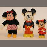 A Vintage painted cast iron Mickey Mouse  3