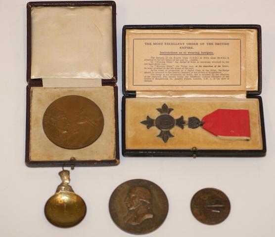 An Anzac Medal 'In Eternal Remembrance 1914-1918'