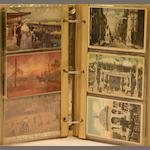 A collection of 19th and early 20th century postcards