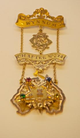 An Australian gold Masonic Medal possibly by Walter Beynon, Brisbane, circa 1835