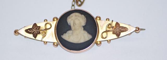 An Australian cameo brooch, circa 1880