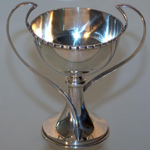An Australian silver two handled cup by William Kerr, Sydney, early 20th century