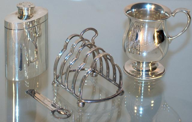 An Australian silver powder jar