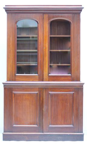 An Australian full cedar bookcase Circa 1850