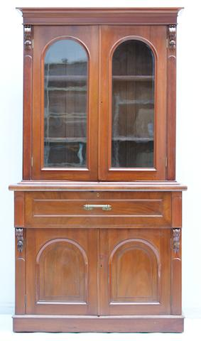 An Australian full cedar secretaire bookcase Circa 1850