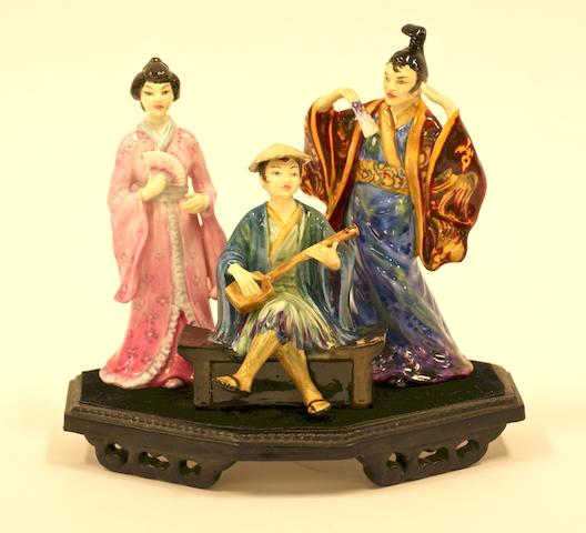 """The Mikado"" by Studio Potter Ray Johnson"