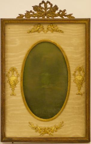 A 19th century gilt metal picture frame