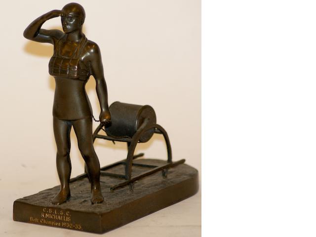 'Cronulla Surf Life Saving Club Belt Champion 1922-33 Trophy'