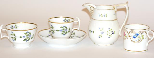 A Swansea porcelain cream jug
