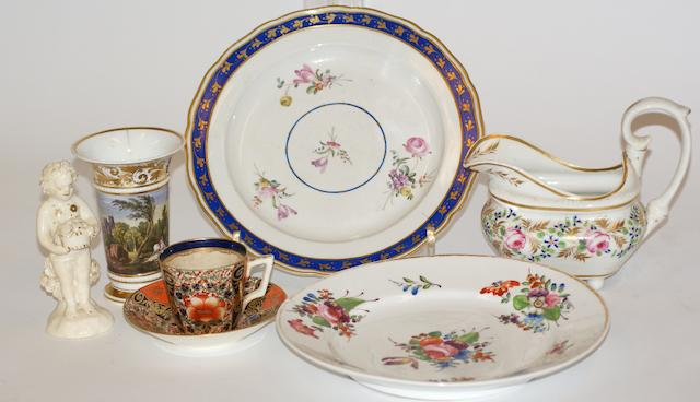 A Collection of Derby porcelain late 18th/early19th century