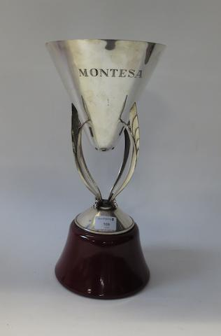 Jim Redman's Montesa trophy,