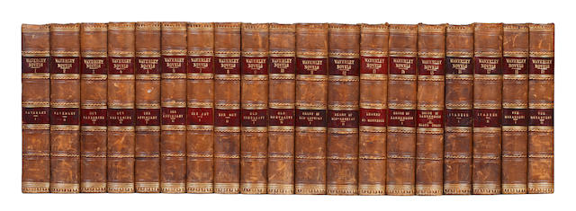 SCOTT (WALTER) Waverley Novels, 48 vol.; and others (60)