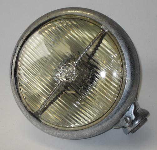 A Lucas FT58 electric fog/driving lamp, 1930s,