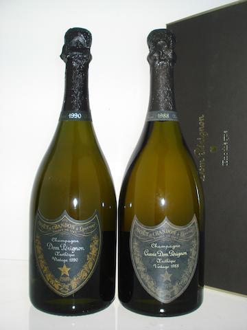Dom Pérignon Oenothèque 1988 (1)<BR />Dom Pérignon Oenothèque 1990 (1)