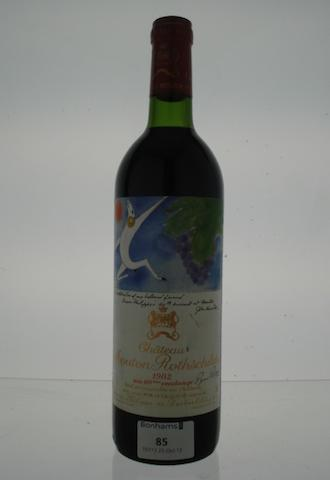 Chateau Mouton Rothschild 1982 (1)