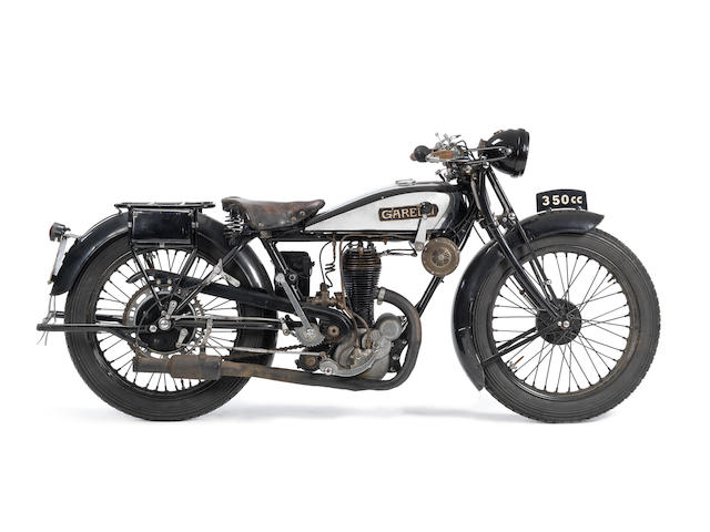 c.1935 Garelli 346cc Twin piston single
