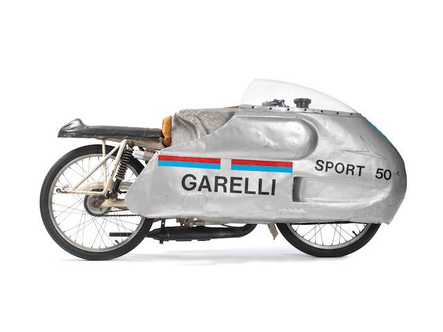 1965 Garelli Monza Record Breaking Racing Motorcycle
