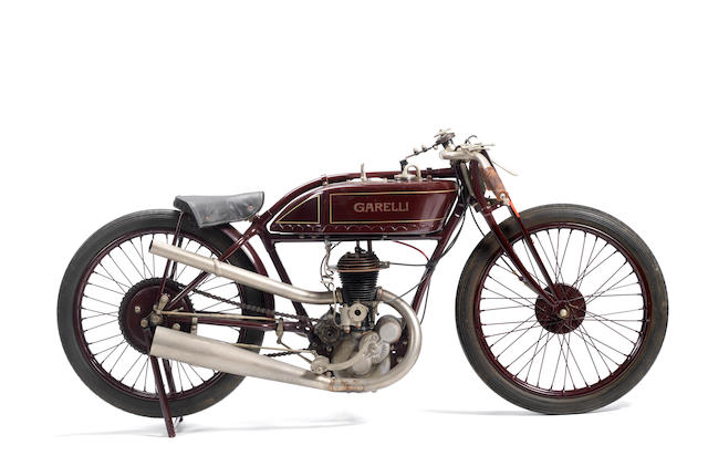 1926 Garelli 348cc Racing Motorcycle Frame no. 522 Engine no. G132