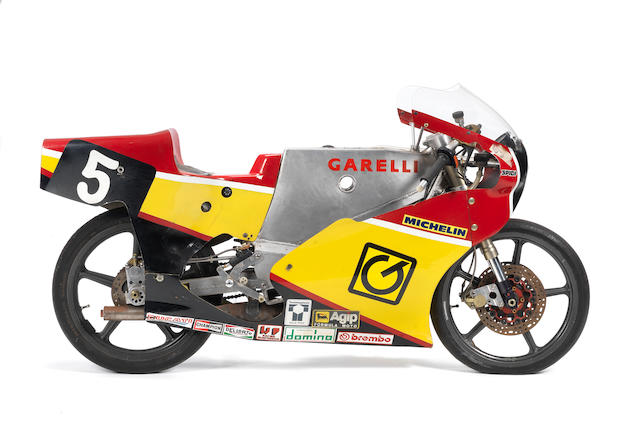 1989 Garelli 125cc Grand Prix Racing Motorcycle Frame no. 002-1