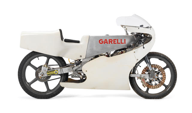 c.1988 Garelli 125cc Grand Prix Racing Motorcycle Frame no. A.G.125.M.003