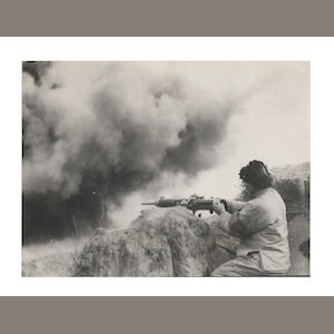 CHINA - SINO-JAPANESE WAR A collection of 24 press photographs of scenes from the Sino-Japanese war (24)