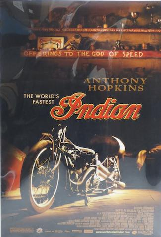 'The World's Fastest Indian, film poster,