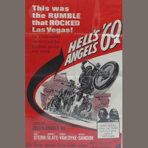 Two motorcycle film posters,