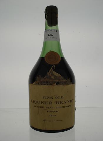 'Fine Old Liqueur Brandy' 1865 (1)