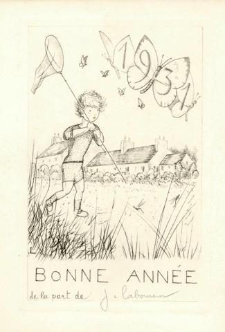 LABOUREUR (JEAN-EMILE) Considerations sur la Gravure originale, 1928
