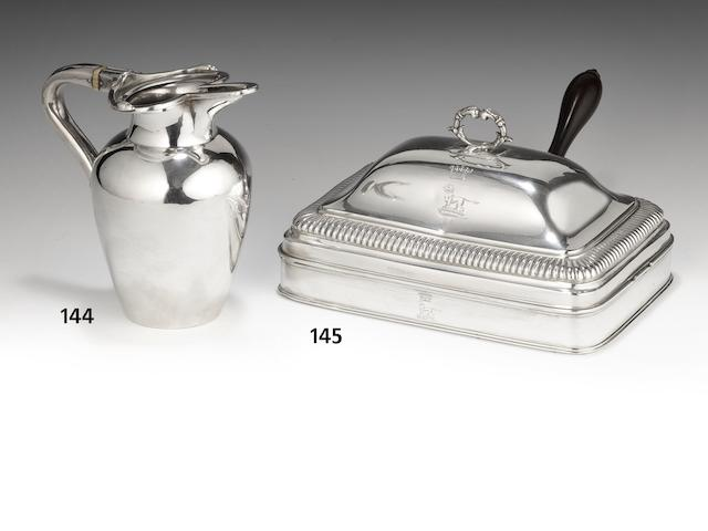 A George III silver cheese-dish by Paul Storr, 1804