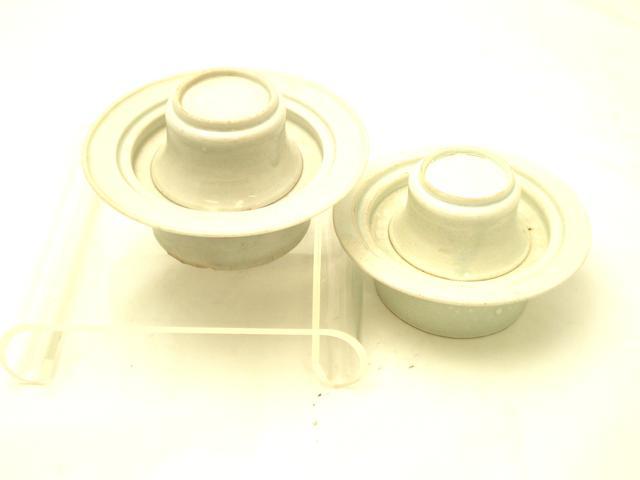 A pair of qingbai cup stands Song