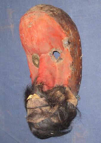 A Dan gagon mask Liberia 27cm high