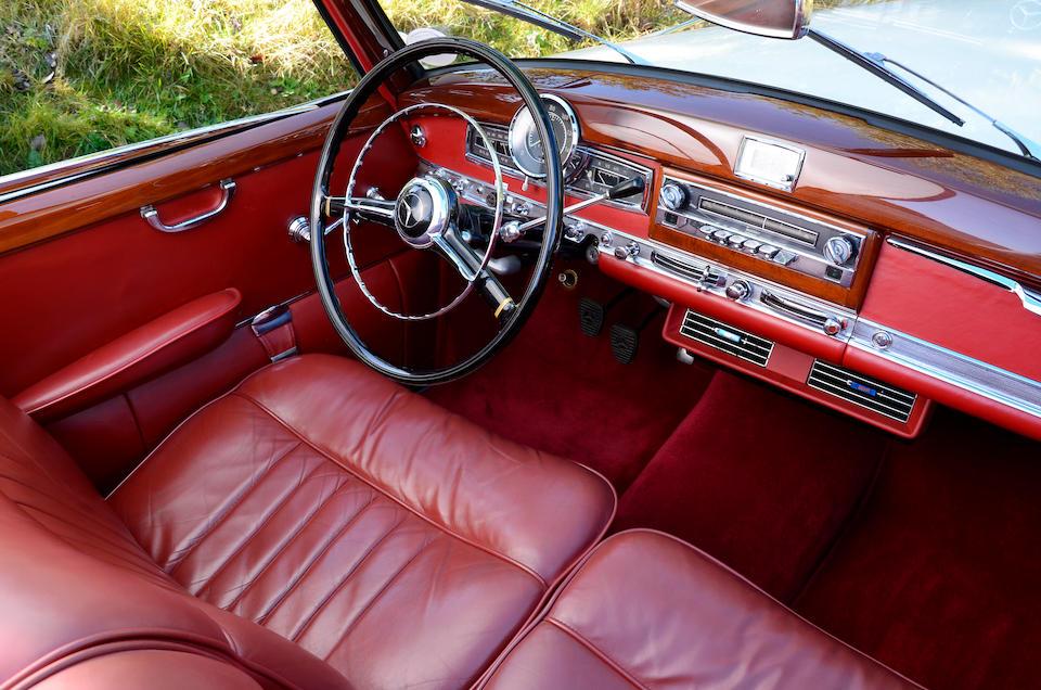 Renovation by Mercedes-Benz Stuttgart,1952 Mercedes-Benz 300b Cabriolet D  Chassis no. 1860140297052 Engine no. 1869202302052