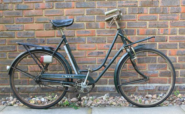 A ladies' BSA bicycle, circa 1950,