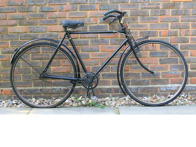 A gents' Raleigh bicycle, circa 1930,
