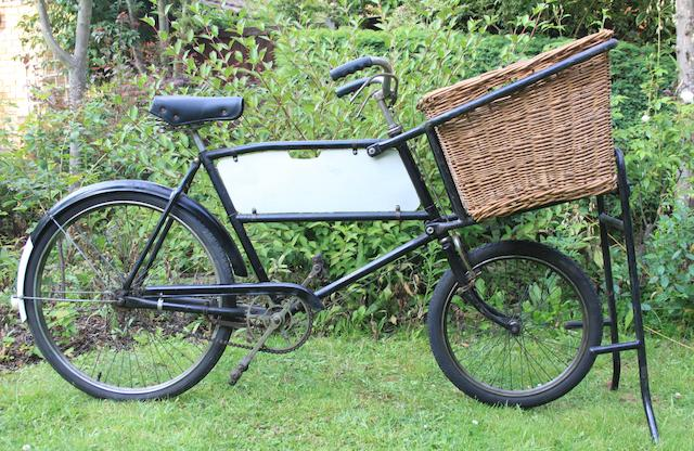 A Raleigh delivery bicycle,