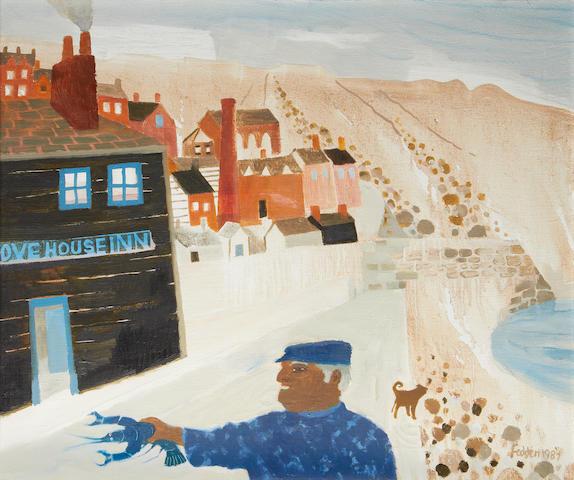 Mary Fedden R.A. (British, 1915-2012) Portland Bill