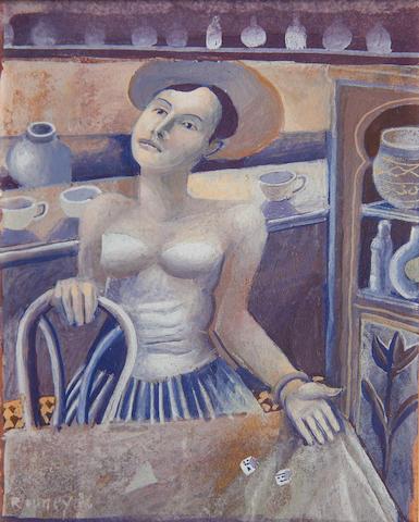 Mick Rooney, RA (British, born 1944) 'Dice Woman'
