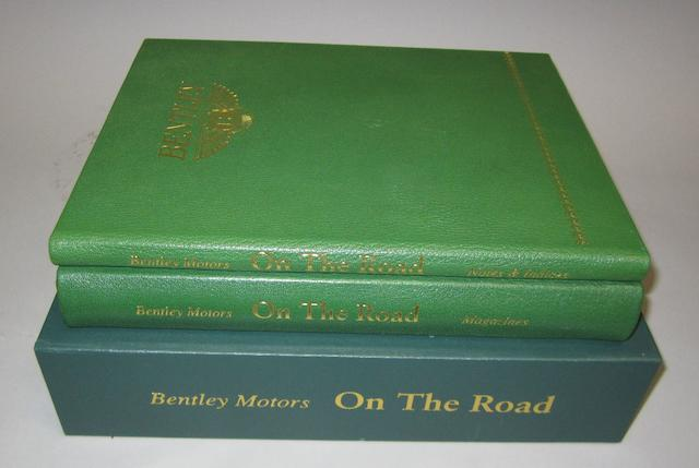 Bentley Motors 'On the Road', special edition by Dalton Watson, 2003,