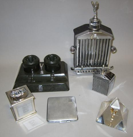 Assorted Rolls-Royce collectables,