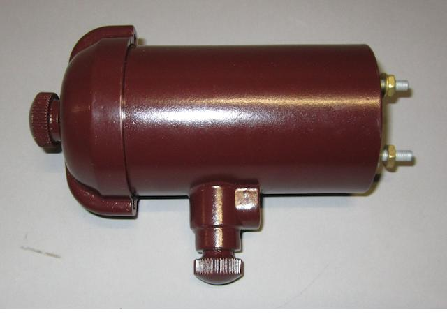 A reproduction Rolls-Royce 'Bakelite' ignition coil, modern,