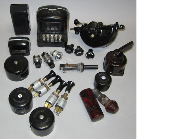 Assorted Rolls-Royce electrical equipment,