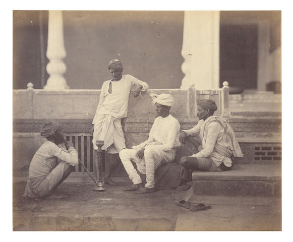 SHEPHERD and ROBERTSON A group of four views of Indian life, [c.1870] (4)